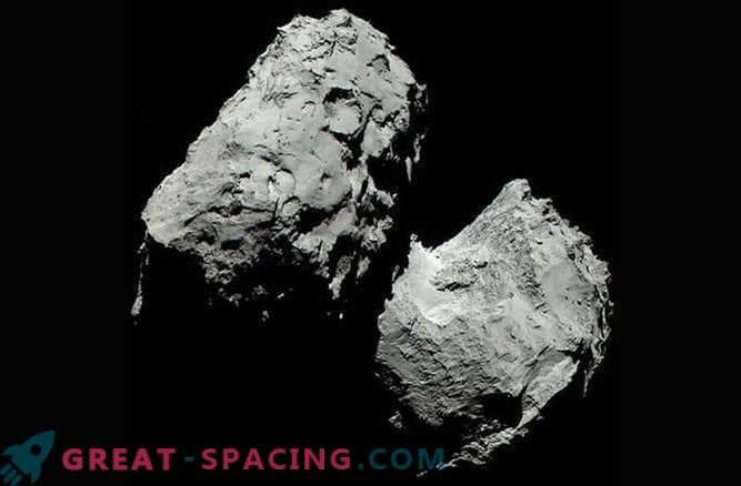 Colore reale della cometa 67P / Churyumov-Gerasimenko
