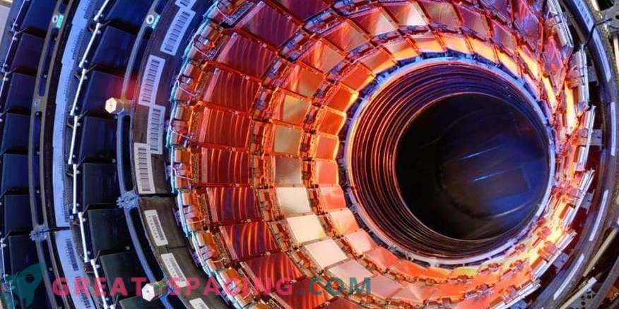 Large Hadron Collider può penetrare un'altra dimensione