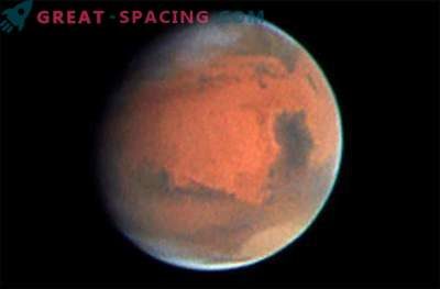 Confronto di Marte: stretto contatto con il pianeta rosso