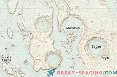 Watney approva: Ordnance Survey ha creato una mappa di Marte