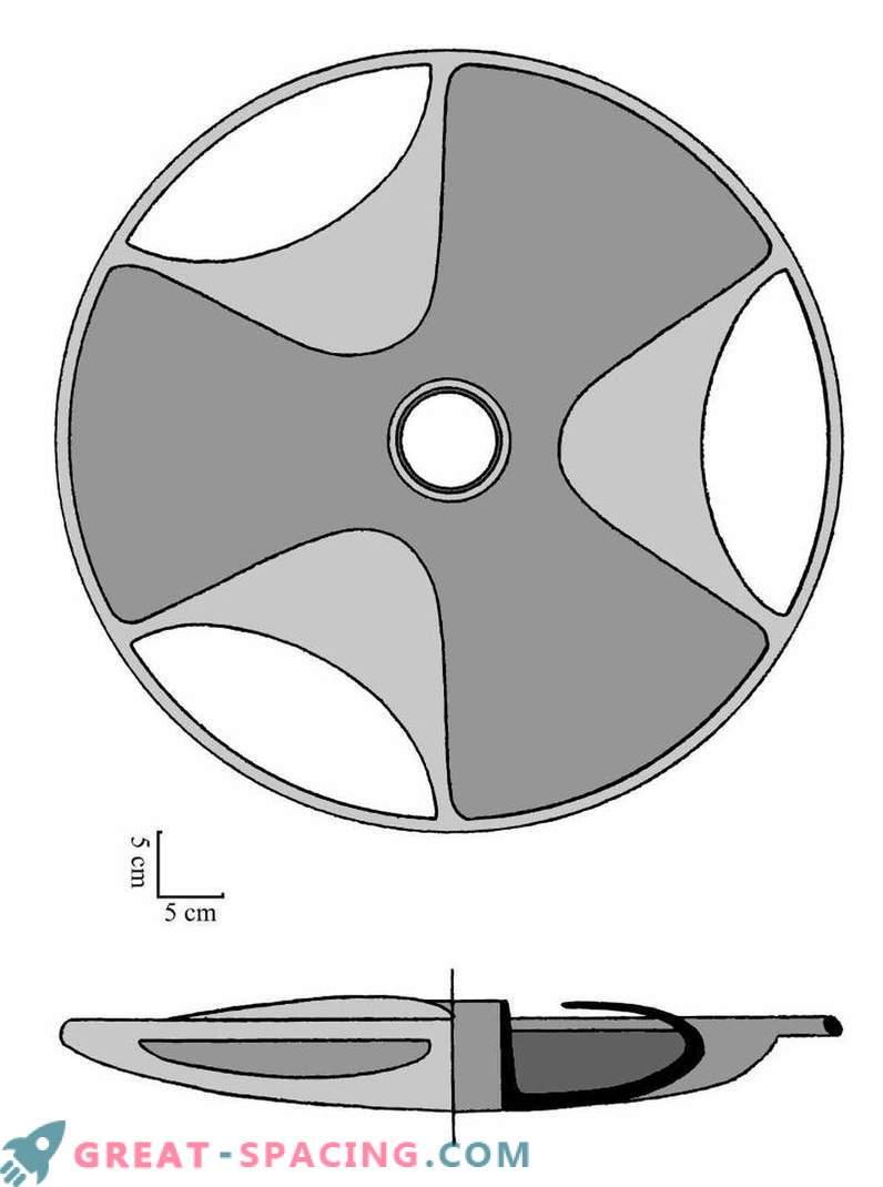 Gli ufologi ritengono che il disco di Sabu possa essere un antico modello di disco volante