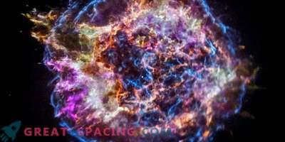 Chandra rivela la natura elementare di Cassiopaea A