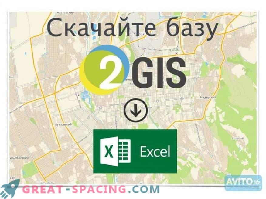 Database 2GIS - completezza dei dati su organizzazioni e città