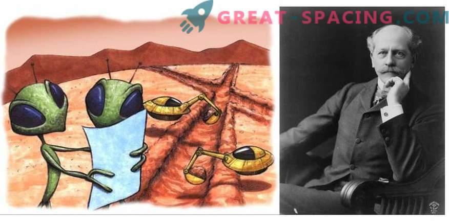 Argomenti e studi sull'esistenza di Percival Lowell Martians
