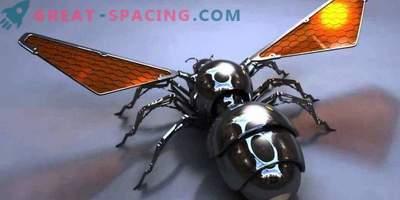 Le api robot possono inviare su Marte