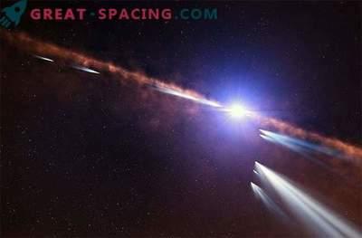 Gli esocometri ruotano intorno a un sistema stellare neonatale.