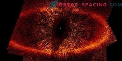 Ciò che sorprende il pianeta zombi nell'orbita dell'occhio di Sauron