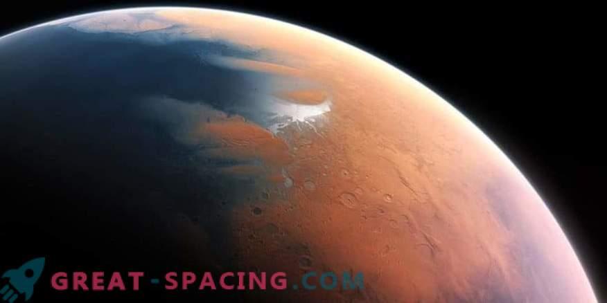 Le esplosioni di metano possono salvare l'antica vita di Marte