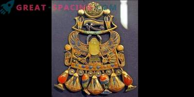 Decorazione egizia con un pezzo di meteorite: quanto sono pericolose le esplosioni nell'atmosfera terrestre