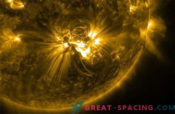 Una potente bagliore solare di classe X si sta avvicinando alla Terra