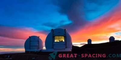 NIRES raggiunge la prima luce per l'Osservatorio di Keck