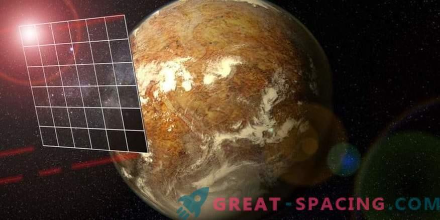 Starlight Alpha Centauri - freni per un veicolo spaziale ultrarapido