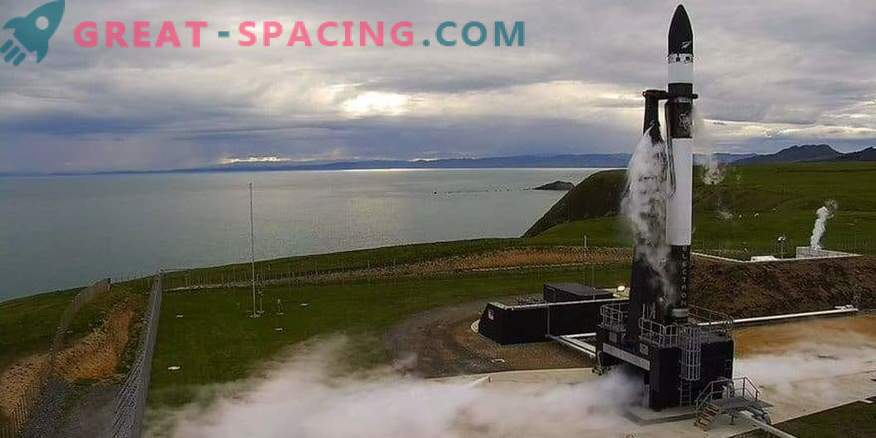 Il missile Rocket Lab entra in orbita