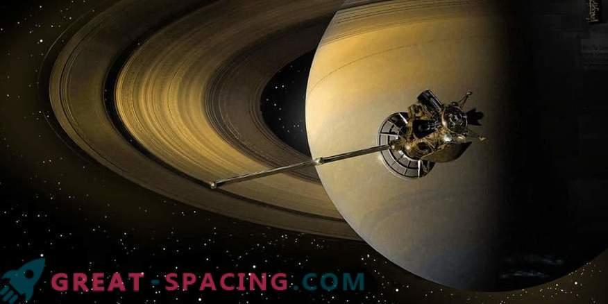 L'apparato Cassini è bruciato nei cieli di Saturno