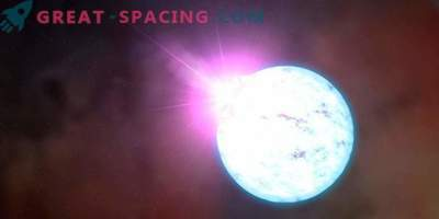 Una stella di neutroni con un potente campo magnetico lancia un getto?