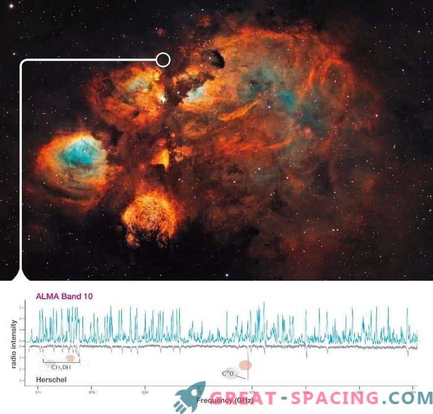 ALMA analizza prima la massiccia formazione di stelle