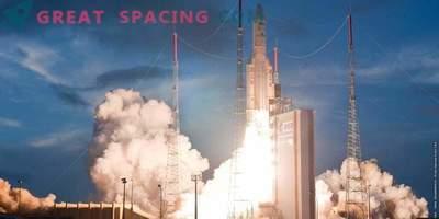 Arian-5 decolla con i satelliti europei