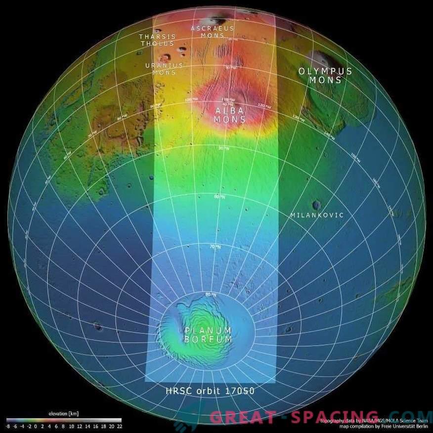Marte è sottosopra.