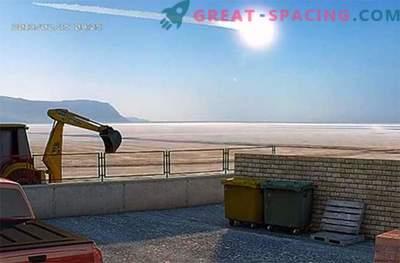 Una grande meteora cadde sulla Terra ... Ma nessuno notò