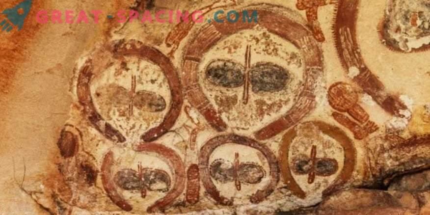 10 insoliti dipinti rupestri che suggeriscono esseri extraterrestri. Secondo gli ufologi