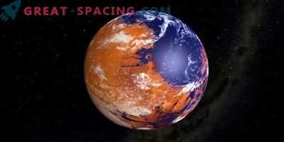 Marte giovani e bagnate valzer vicino a Venere?