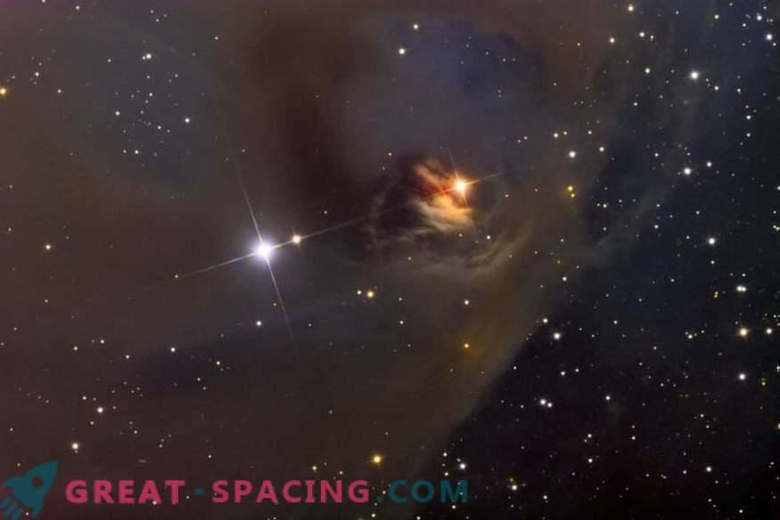 La struttura del campo magnetico delle stelle appena nate è più caotica di quanto supponiamo