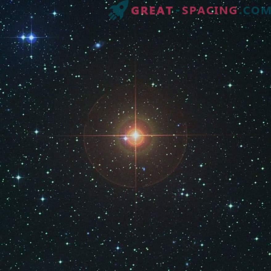 Il gigante rosso dimostra il futuro del sole.
