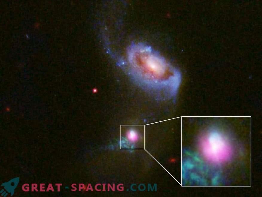 I ricercatori hanno catturato un incredibile buco nero supermassiccio