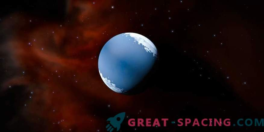 Atmosphere of the water worlds