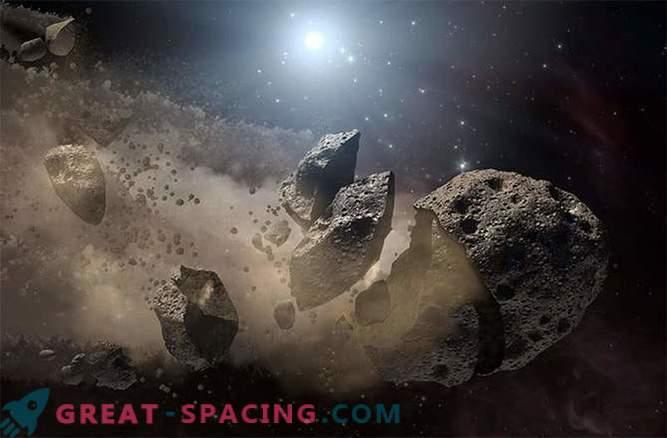 Gli asteroidi sono soggetti a fatica termica e deframmentazione
