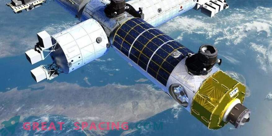 Una stazione spaziale privata può riutilizzare parti della ISS.