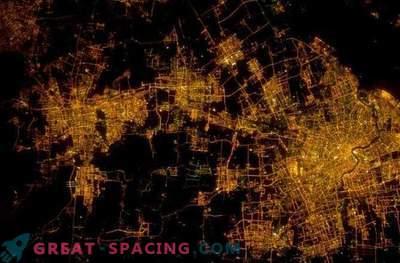 Pianificazione urbana: città dallo spazio