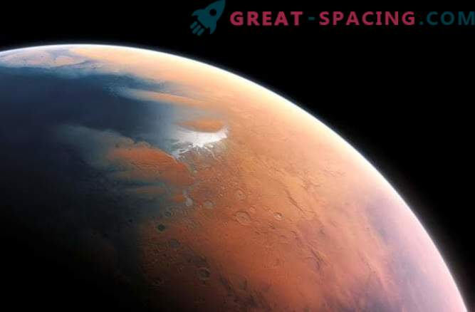 Marte sta emergendo dall'era glaciale