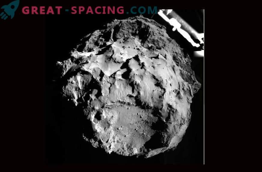 Il modulo di atterraggio del rosone è atterrato sulla cometa Churyumov-Gerasimenko