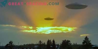 Come appaiono i cacciatori di UFO