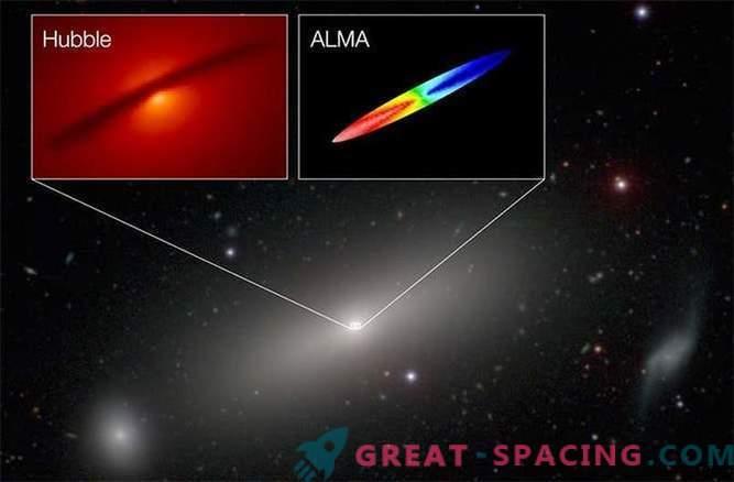 ALMA ha misurato la massa del buco nero con un'accuratezza senza precedenti
