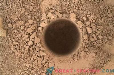 La curiosità ha confermato la presenza di composti organici su Marte!
