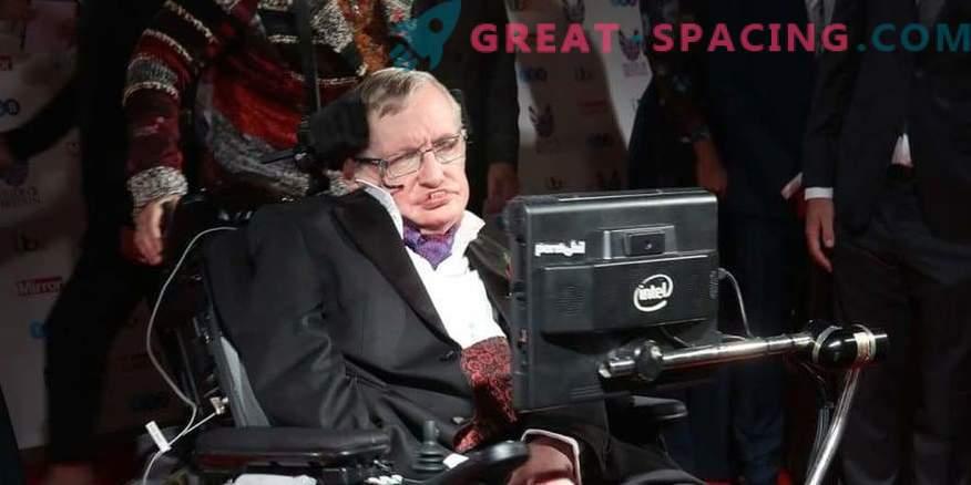 Stephen Hawking se rend dans l'espace à bord de Virgin Galactic