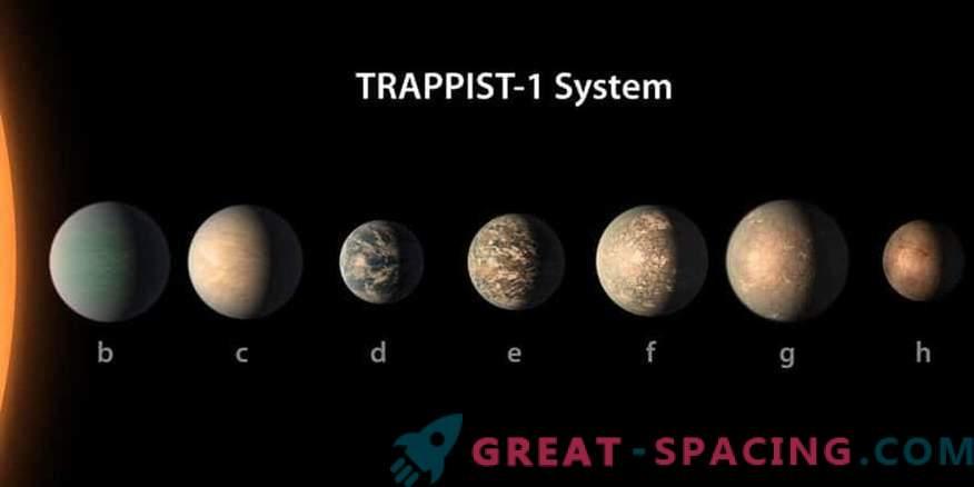 Planet Stars TRAPPIST-1 può essere amico della vita