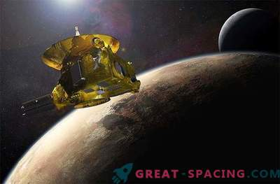 Veicolo spaziale NASA che si avvicina a Pluto