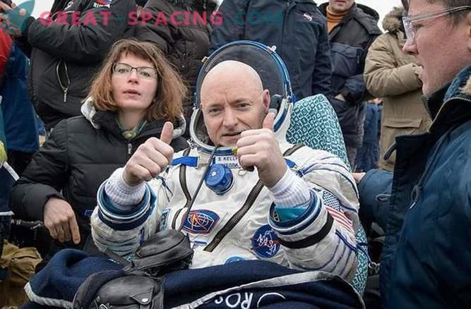 L'epica missione di un anno sulla stazione spaziale è completata.