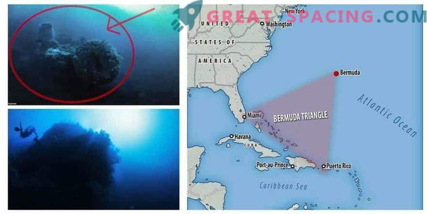 La nave aliena cadde nella trappola del Triangolo delle Bermuda?