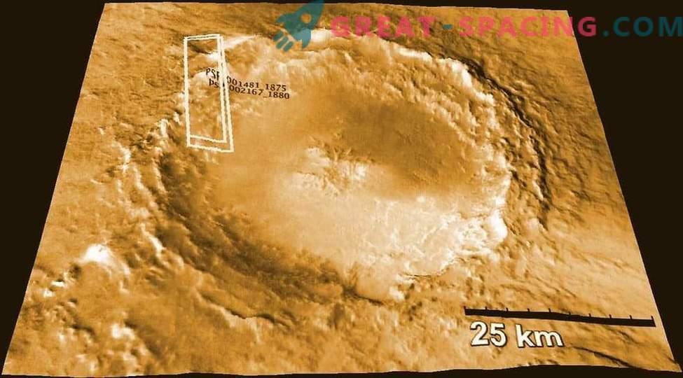 I meteoriti marziani indicano l'umidità del pianeta rosso