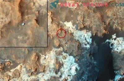 Il rover su Marte cessò di lasciare tracce sulla superficie di Marte