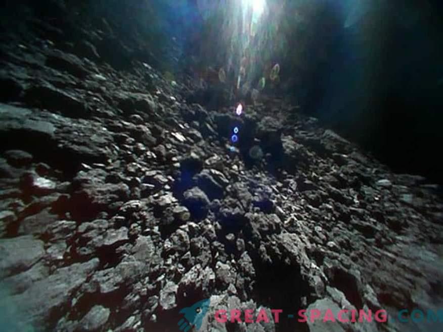 Hämmastavad vaated Jaapani robotite asteroid Ryugu'le