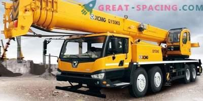 Noleggio di gru per camion rapido ed economico