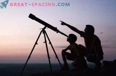Cosa può essere visto con il telescopio domestico