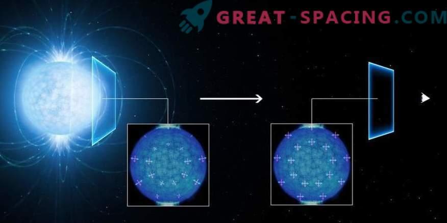 """Квантовите """"призраци"""" са забелязани в крайния магнетизъм на неутронна звезда"""
