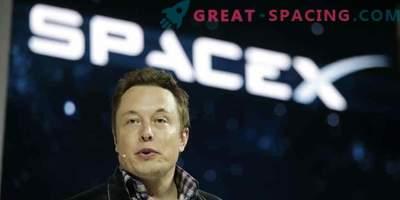 Ilon Musk wird sein Auto ins All bringen.