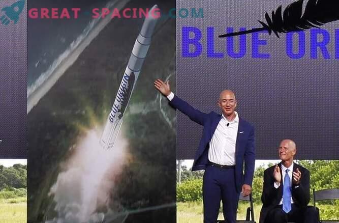 Il fondatore di Amazon Jeff Bezos lancerà missili spaziali dalla Florida